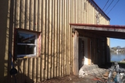 Installation de revêtement extérieur