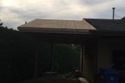 Prolongement de la toiture